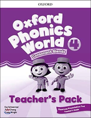 [NEW] Oxford Phonics World 4 Teacher's pack