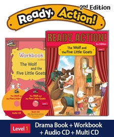 Pack-Ready Action 2E 1: The Wolf and the Five Little Goats