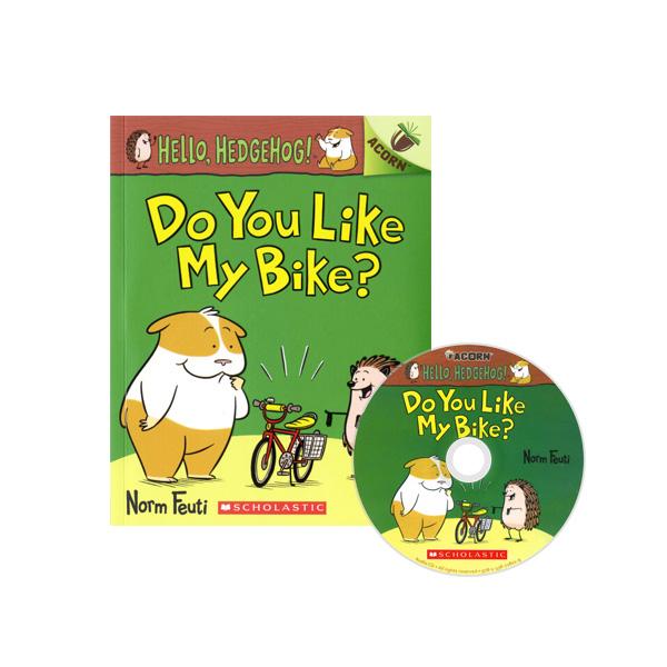 Hello, Hedgehog! #1: Do You Like My Bike? (CD & StoryPlus)