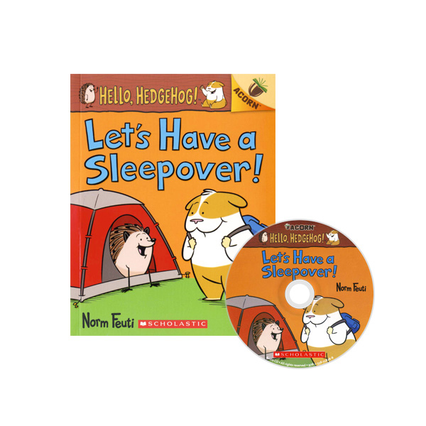 Hello, Hedgehog! #2: Let's Have a Sleepover! (CD & StoryPlus)
