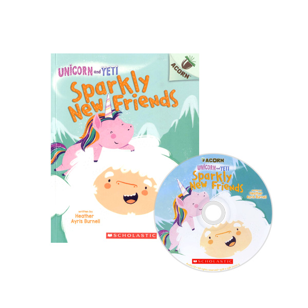 Unicorn And Yeti #1: Sparkly New Friends (CD & StoryPlus)