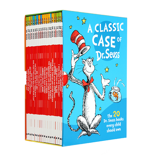 A Classic Case of Dr. Seuss : Dr. Suess 20 book box set