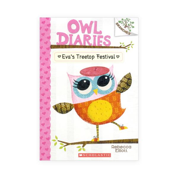 Owl Diaries #1:Eva's Treetop Festival