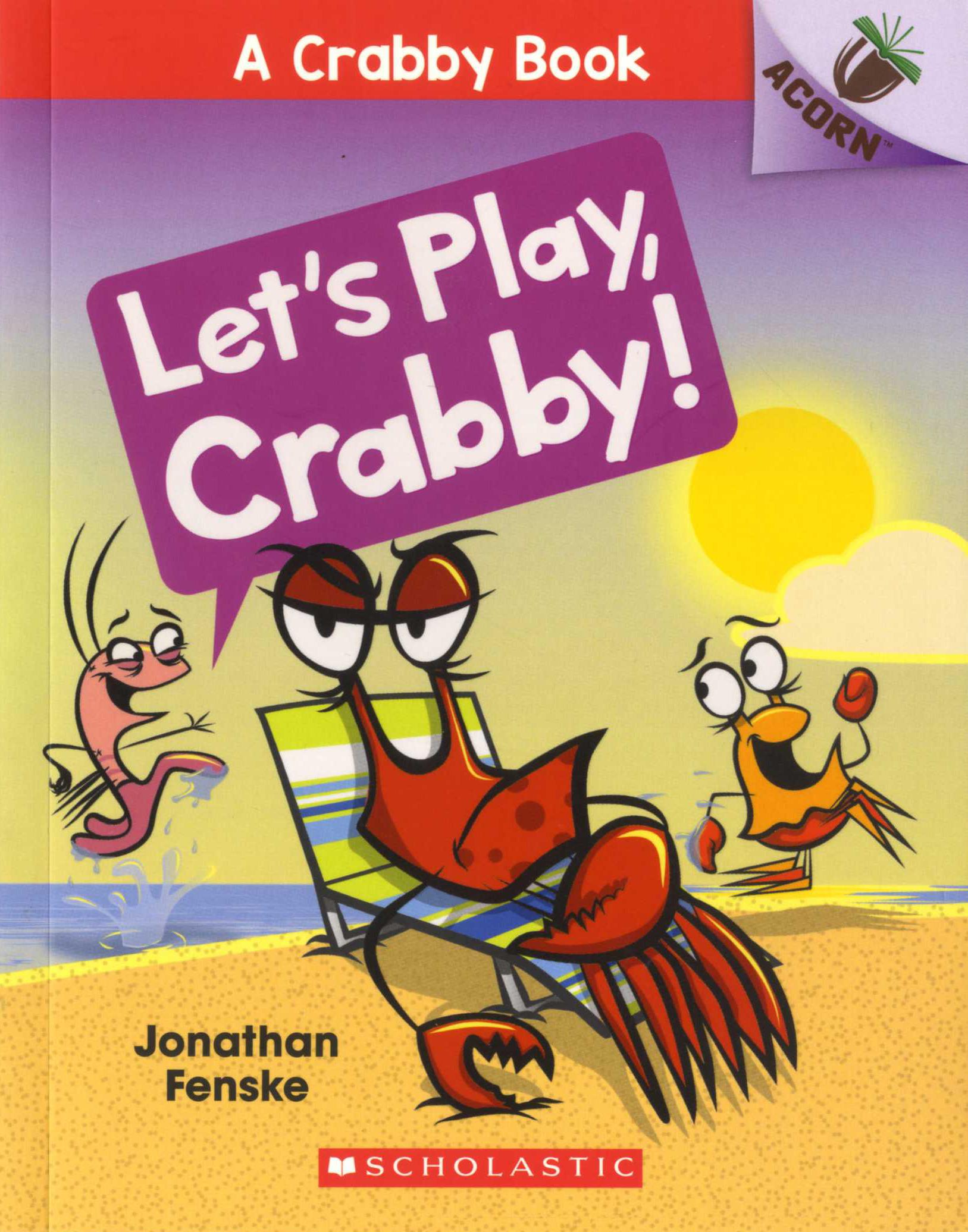 [행사]A Crabby Book #2: Let's Play, Crabby!