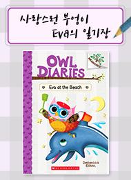 Owl Diaries #14:Eva at the Beach (A Branches Book)