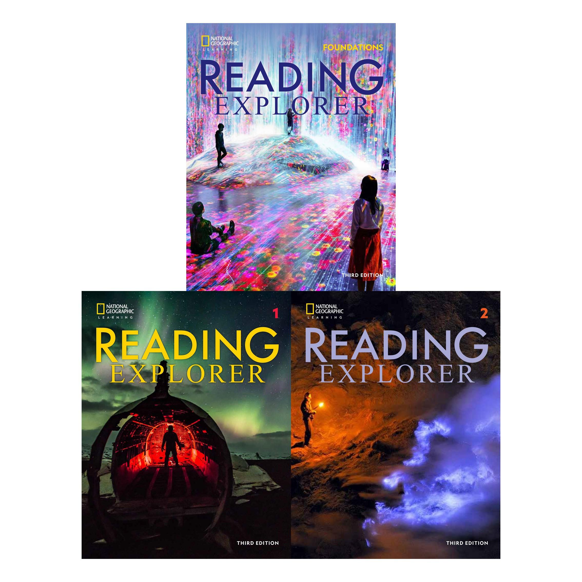 [앵콜공구] Reading explorer 3/E 레벨 Foundations, 1, 2 (Student book + Online Workbook sticker code)