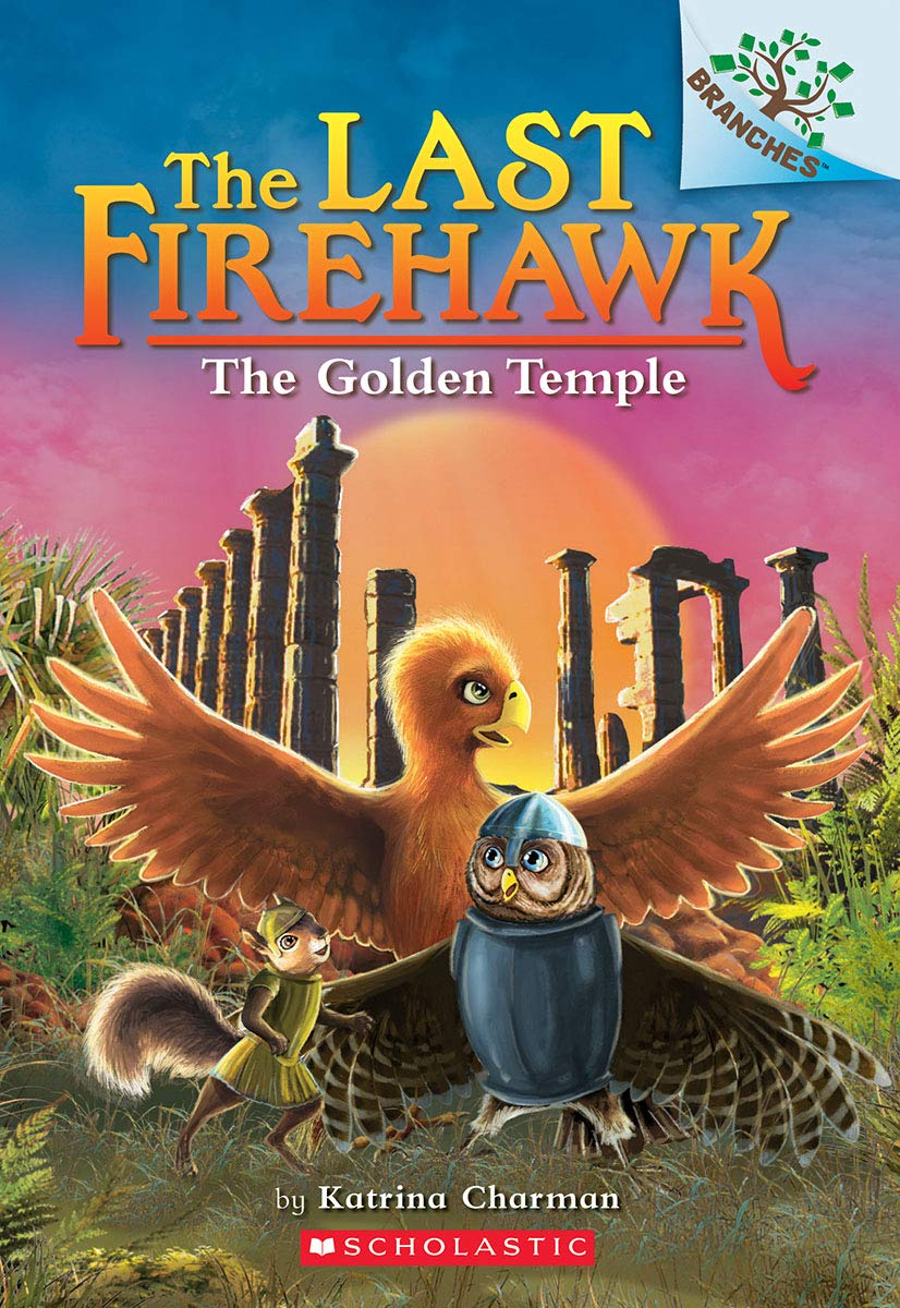 The Last Firehawk #9:The Golden Temple (A Branches Book)