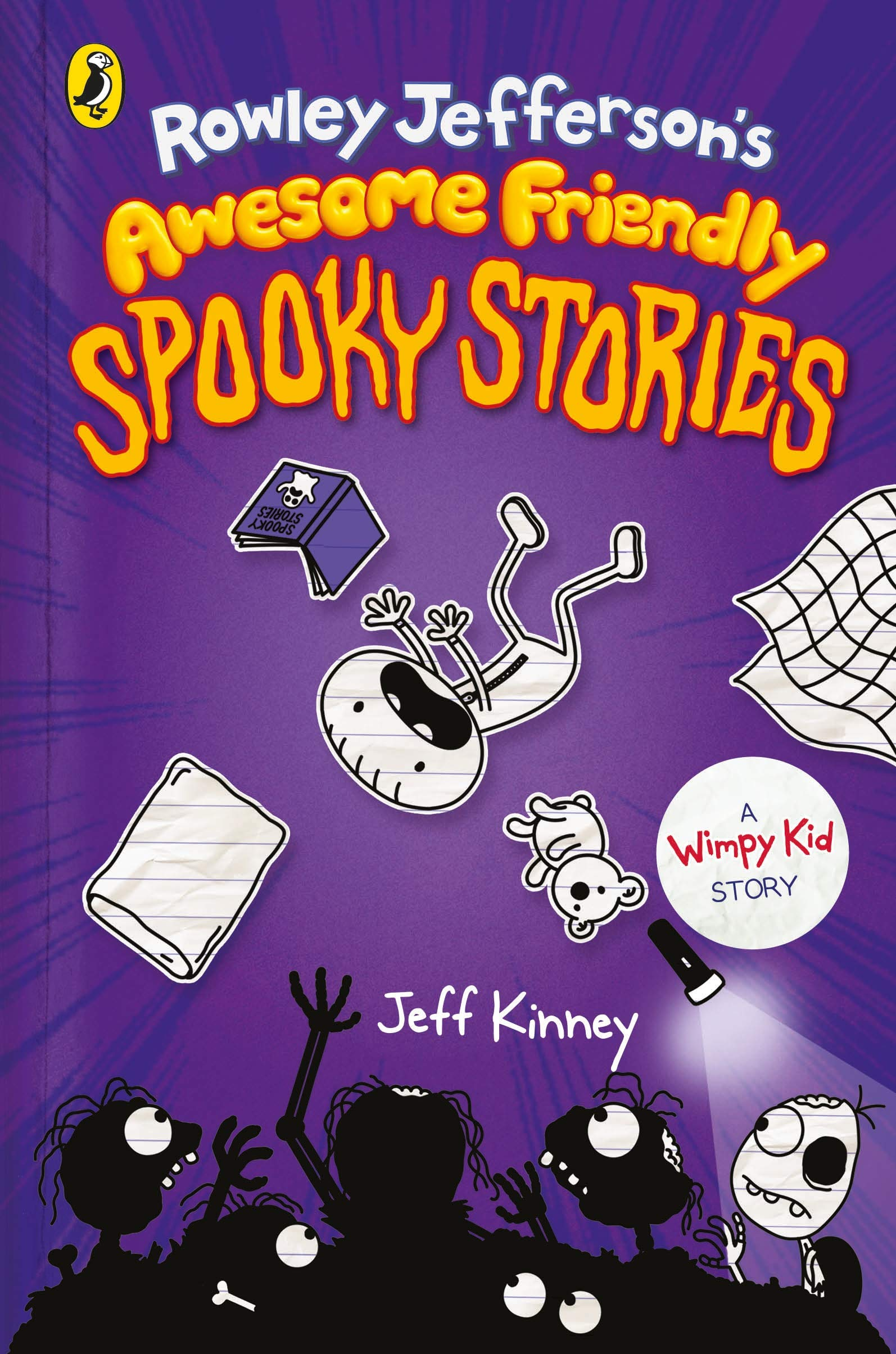Diary of an Awesome Friendly Kid #3: Rowley Jefferson's Awesome Friendly Spooky Stories (Hardcover)