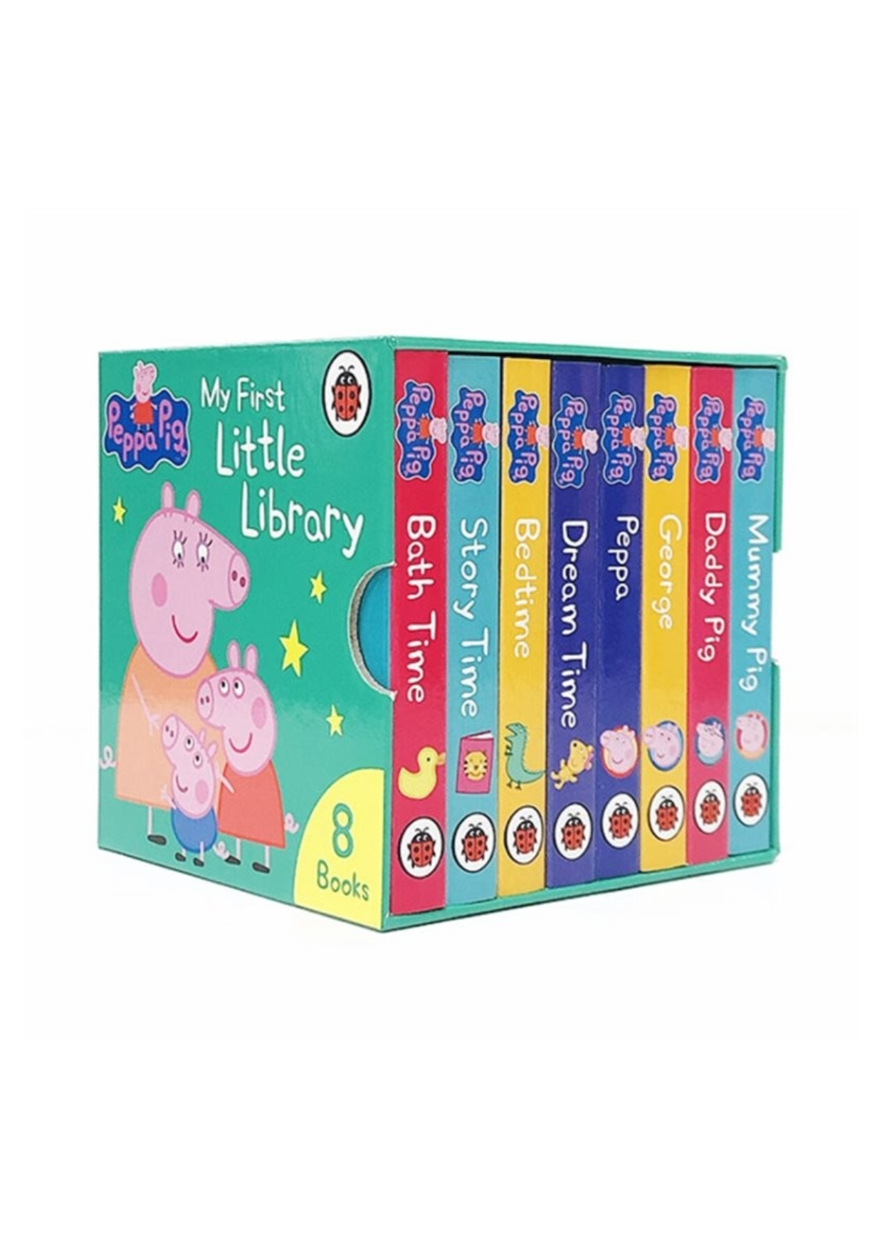 Peppa Pig: My First Little Library (영국판, 8 Board books)