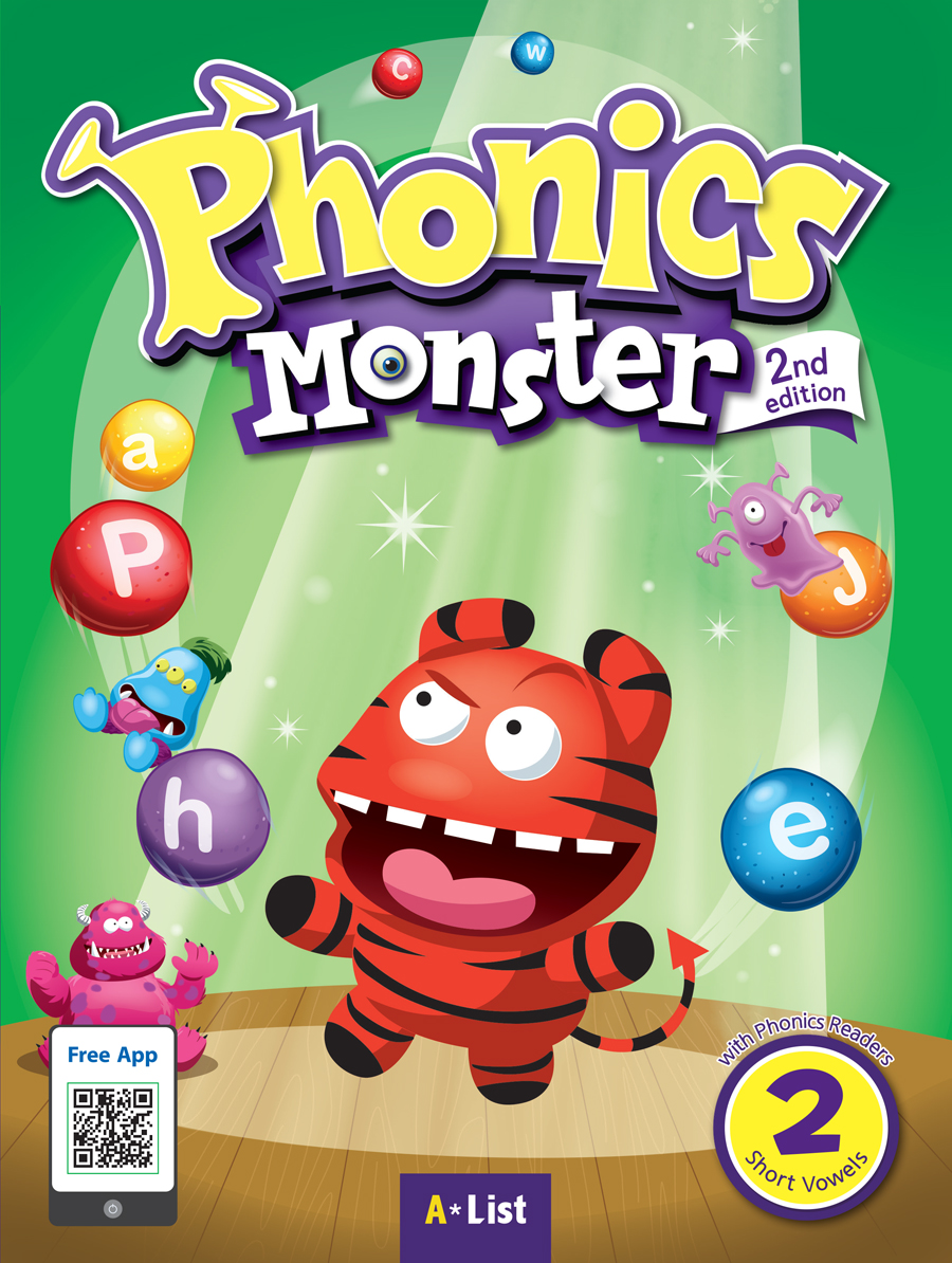Phonics Monster 2 Student's Book with Readers & App[2nd Edition]