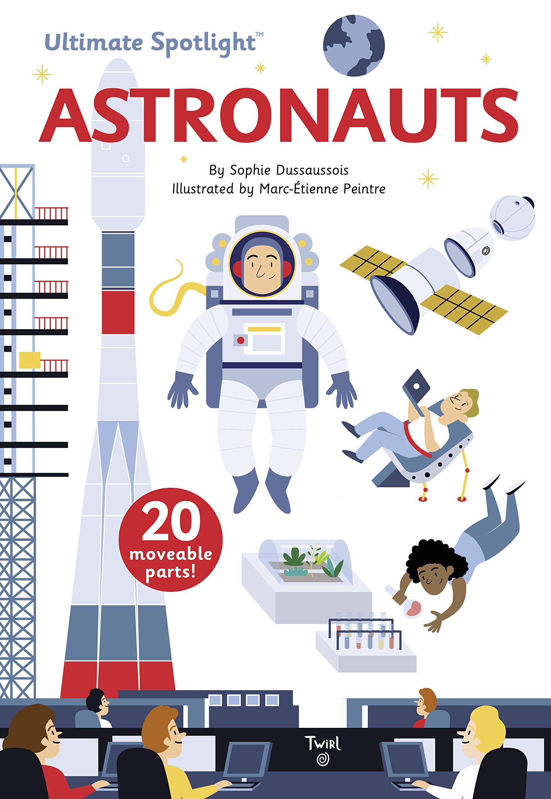 Ultimate Spotlight: Astronauts (Hardcover)