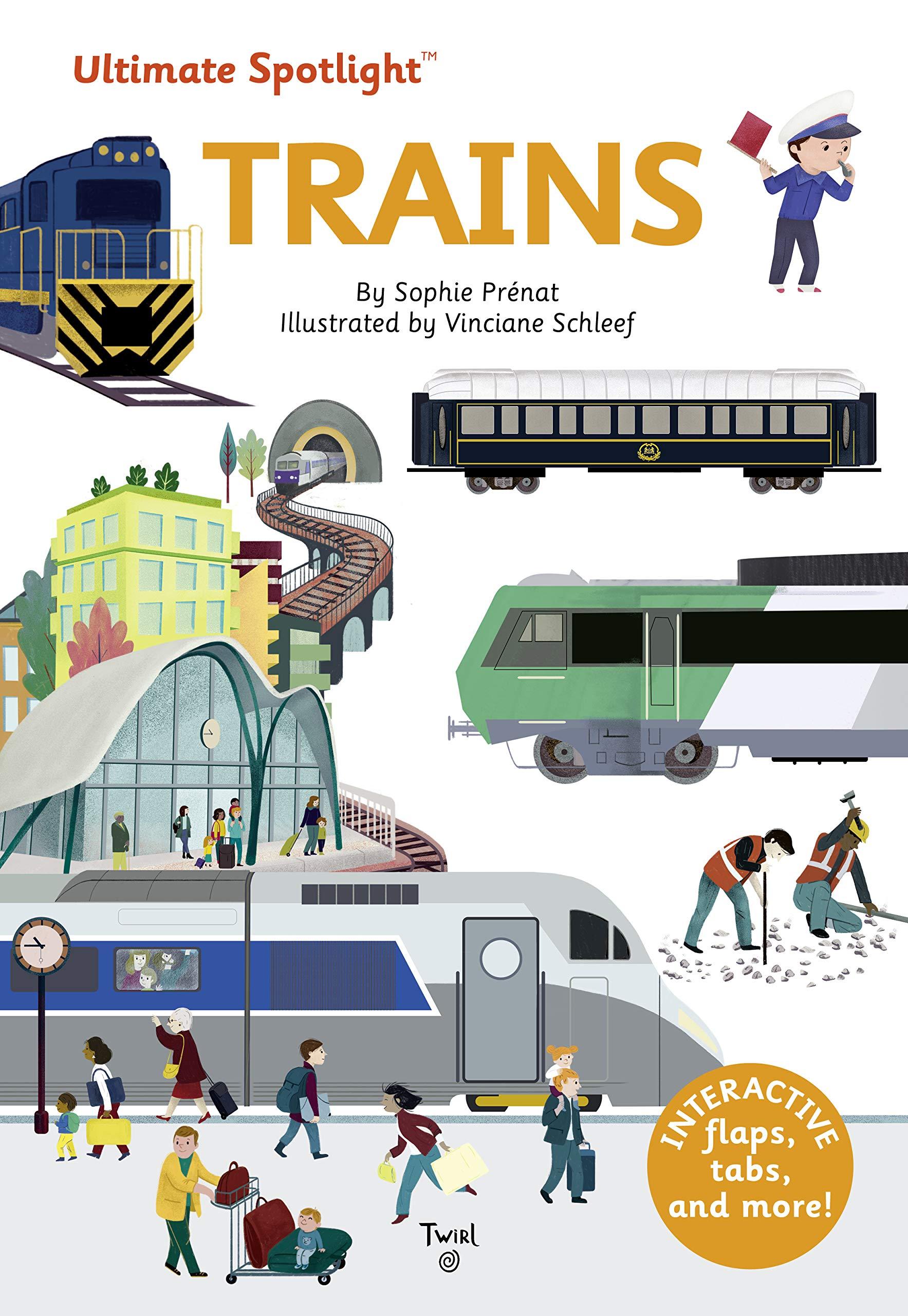 Ultimate Spotlight: Trains (Hardcover)