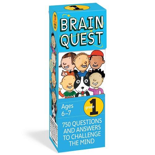 Brain Quest 1st Grade Q&A Cards