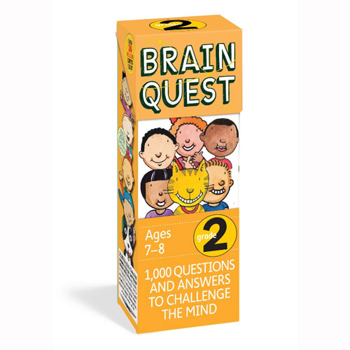Brain Quest 2nd Grade Q&A Cards