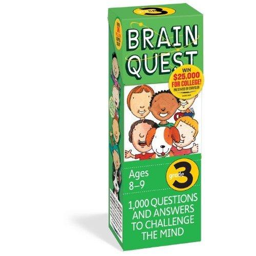 Brain Quest 3rd Grade Q&A Cards