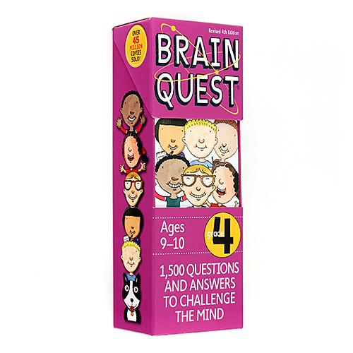 Brain Quest 4th Grade Q&A Cards