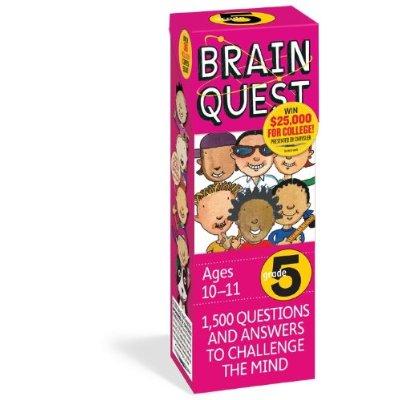 Brain Quest 5th Grade Q&A Cards