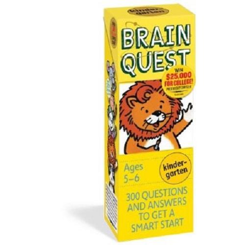 Brain Quest Kindergarten Q&A Cards