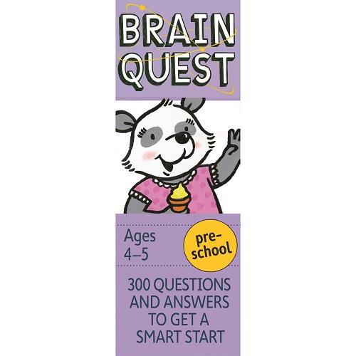 Brain Quest Preschool Q&A Cards