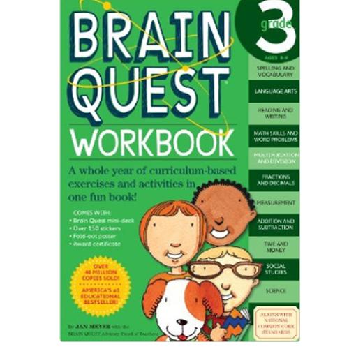 Brain Quest Workbook: 3rd Grade