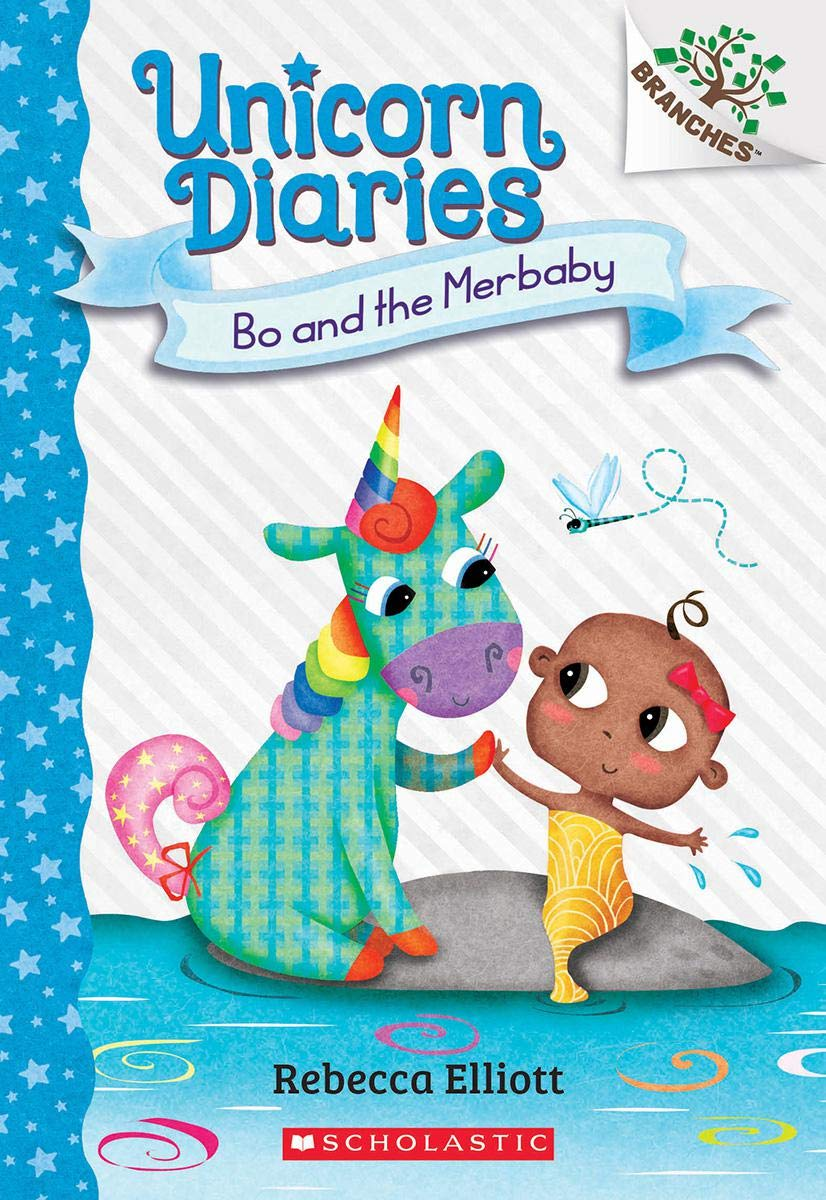 Unicorn Diaries #5:Bo and the Merbaby (A Branches Book)
