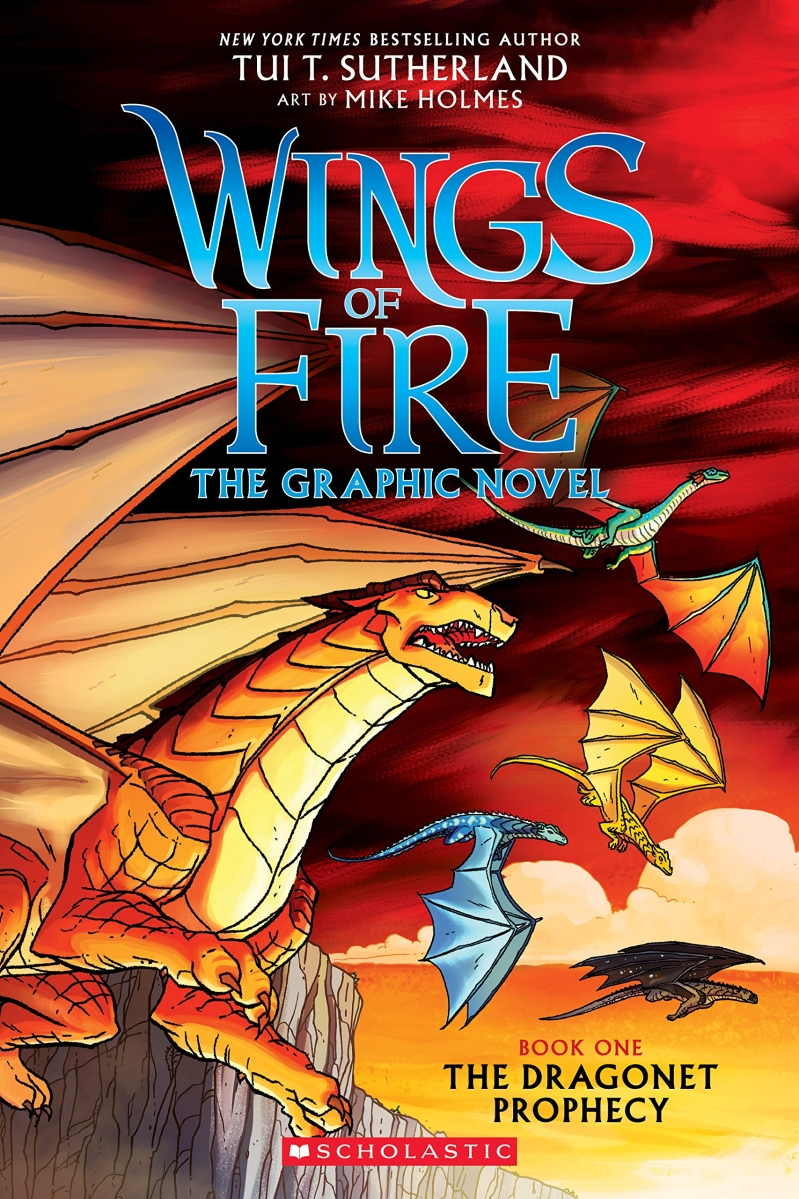 SC-Wings of Fire Graphic Novel #1: The Dragonet Prophecy