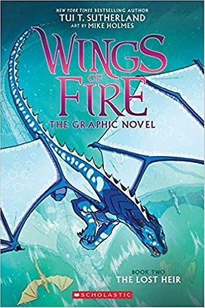 SC-Wings of Fire Graphic Novel #2: The Lost Heir