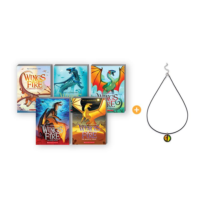 SC-Wings of Fire #1-5 Pack (목걸이 포함)