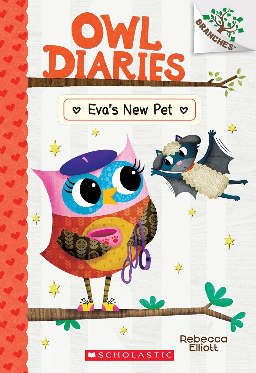 Owl Diaries #15:Eva's New Pet (A Branches Book)