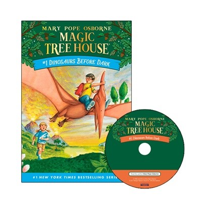 Magic Tree House #1 Dinosaurs Before Dark (Paperback+Audio CD)