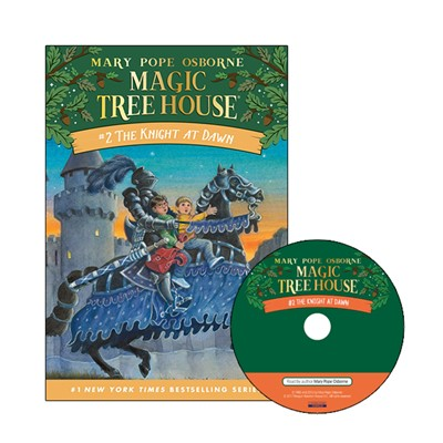 Magic Tree House #2 The Knight At Dawn (Paperback+Audio CD)
