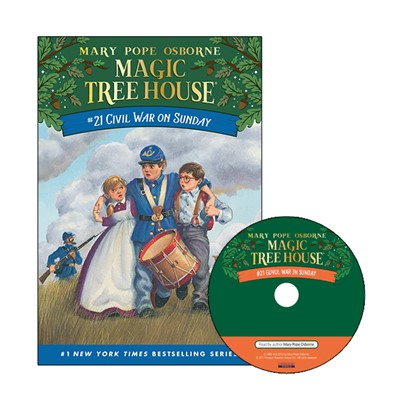 Magic Tree House #21 Civil War On Sunday (Paperback+Audio CD)