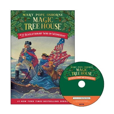 Magic Tree House #22 Revolutionary War On Wednesday (Paperback+Audio CD)