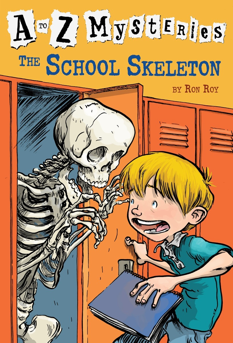 A To Z Mysteries #S The School Skeleton