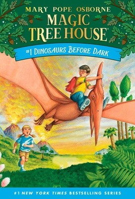 Magic Tree House #1 Dinosaurs Before Dark (Paperback)