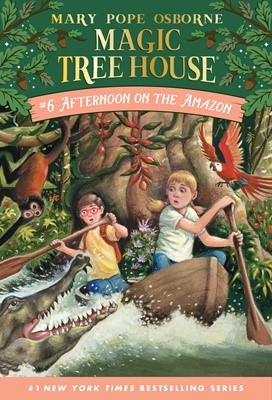 Magic Tree House #6 Afternoon On The Amazon (Paperback)