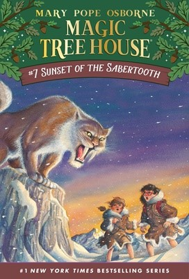 Magic Tree House #7 Sunset Of The Sabertooth (Paperback)