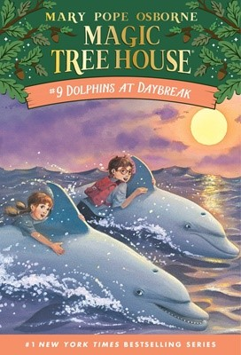 Magic Tree House #9 Dolphins At Daybreak (Paperback)