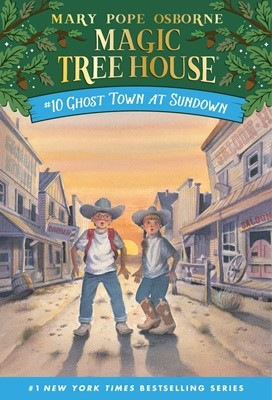 Magic Tree House #10 Ghost Town At Sundown (Paperback)