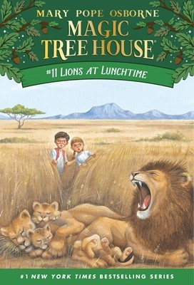 Magic Tree House #11 Lions At Lunchtime (Paperback)