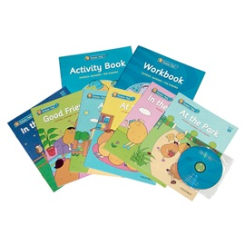 A set  Potato Pals 1 (Book Set With CD + Workbook + Activity Book)