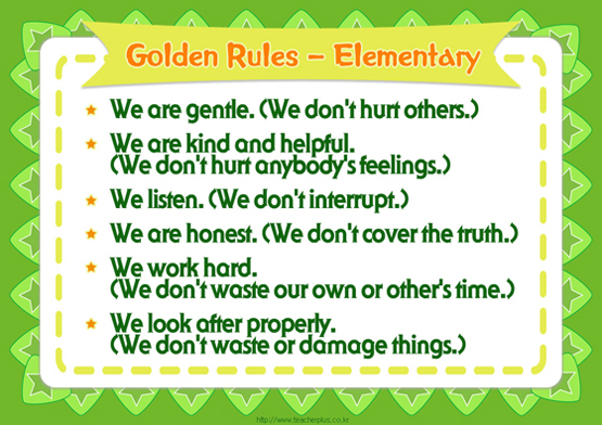 Golden Rules - Elementary